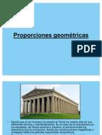 Proporciones geométricas