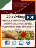 Lista de Precios Pasapalos Cdla.