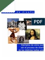 PROCESO DE DISEÑO DE LAS BELLAS ARTES