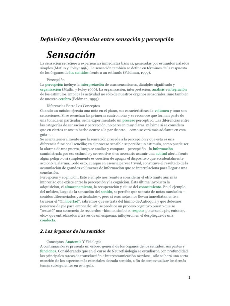 LA SENSACIÓN