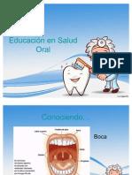 educacion odontopediatria