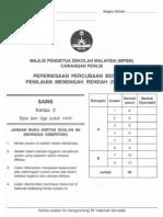 2011 percubaan pmr sains (perlis) – k2