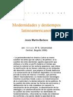 Modernidades y destiempos latinoamericanos