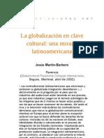 La globalización en clave cultural. Una mirada latinoamericana