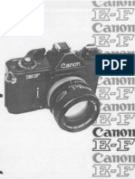 Canon Ef Service Manual