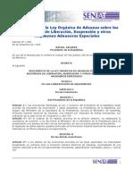 Reglamento de la Ley Orgánica de Aduanas sobre los