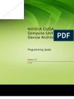 NVIDIA CUDA Programming Guide 2.0