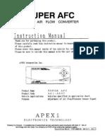 apexi installtion instruction manual s afc 2 super air flow rh scribd com apexi super afc 2 wiring diagram apexi safc ii wiring diagram