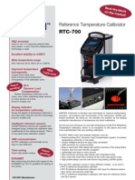 Ametek RTC700 Datasheet