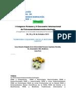Primer Congreso Peruano y II Encuentro Internacional de PNIE