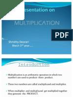 Presentation on Multiplication