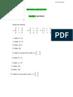 Taller 1 Matrices