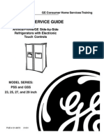 31-9072 Arctica Profile GE Side-By-Side Refrigerator Service Manual