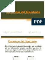 Elementos del hipertexto