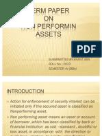 NPA(Non Performing Assets)