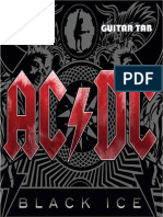 ACDC - Black Ice Guitar Tab