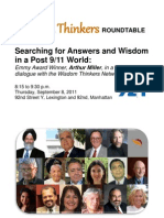 Wisdom Thinkers Roundtable