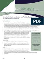 LTRC Technical Summary 476 Control of Embankment Settlement Field Verification on PCPT Prediction Methods