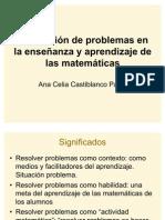 Resolución de problemas en la enseñanza aprendizaje de las matemáticas