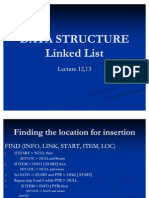 Data Structure Lecture 12,13
