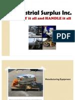 Industrial Surplus World - Industrial Equipment
