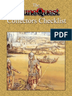 Collectors Checklist RuneQuest 1.0