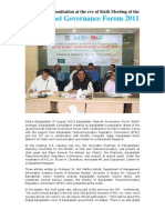 Bangladesh Consultation on  Internet Governance Forum