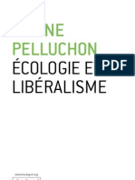 Ecologie et libéralisme - Corine Pelluchon