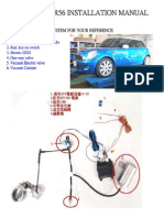 MINI COOPER R56 Installation Manual