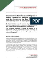 FIESTAS Casas Region Ales PSOE