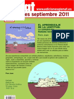 Novedades septiembre 2011