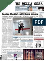 Il Corriere Della Sera 26.08.11