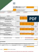 Fiche Evaluation Fournisseur