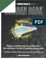 David Regal - Sudden Deck