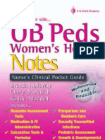 Ob Peds Women s Health Notes