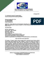 EOIR-Letter to EUCtHR t8-23-2011Hadi's Deportstion