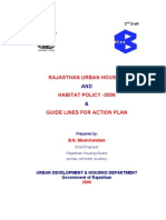 Rajasthan Urban Housing and Habitat Policy-2006
