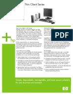 t5000 Thin Client Data Sheet 2005