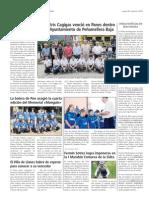 El Oriente de Asturias (26 de agosto 2011) Deportes