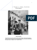 Subanon Tales and Oral History