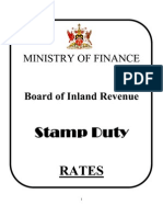 List of Stamp Duty Rates