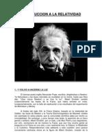 Introducción a la Relatividad