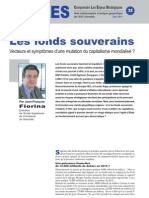 Les fonds souverains - Notes d'analyse Géopolitiques n°32