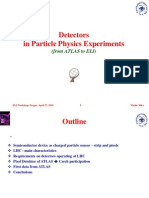 V. Vrba-Detectors in Particle Physics Experiments (From ATLAS to ELI)