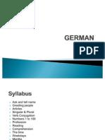 1. German