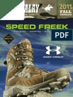 US Cavalry 2011 Fall Catalog