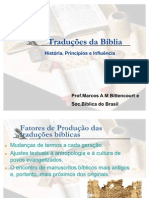 traduÇÕes da bÍblia - palestra sem pentecostal-1