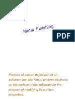 Metal Finishing