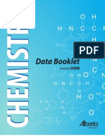 Chemistry Data Booklet McGrawHill