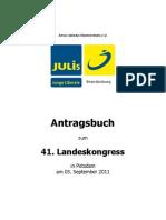 Antragsbuch Lako 2011 Potsdam